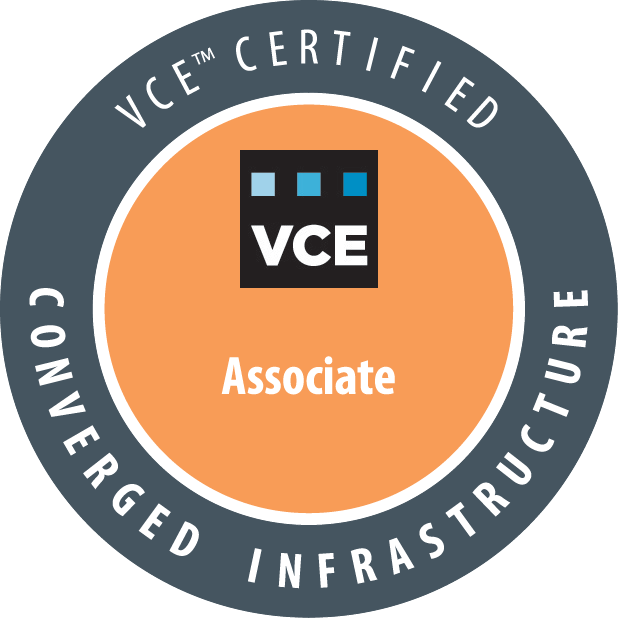 VCE&tm; Converged Infrastructure Associate