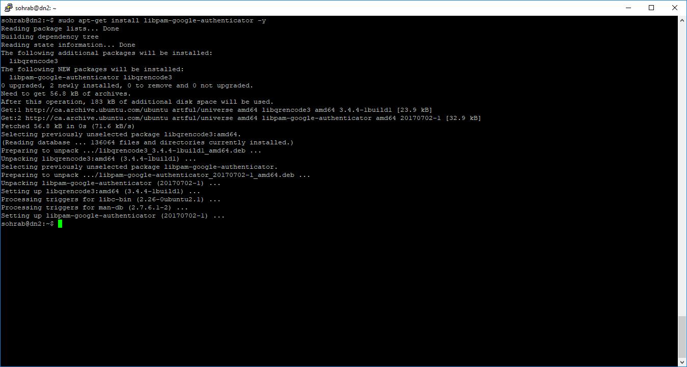 SSH & 2FA on Linux – Kasraeian